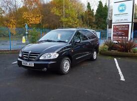 Ssangyong Rodius 2.7TD 2009 Manuel Diesel 7 Seat MPV / Estate In Black