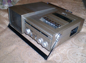 CANDLE Retro Tape Player Radio TV