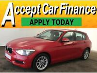 BMW 118 2.0TD auto 2012MY d SE FROM £46 PER WEEK !