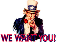 We need you! Nous engageons!