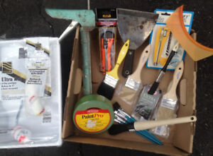 PAINT SUPPLIES FOR SALE.