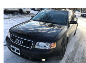 2003  AUDI A4 1.8 QUATTRA  FOR IMMEDIATE SALE