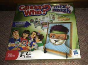 Guess Who Mix 'n Mash Boardgame Brand New & Factory Sealed