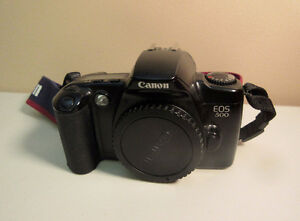 Canon EOS 500 35mm film camera