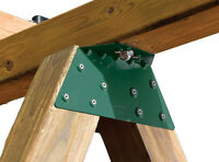 NEW Swing Set Frame Brackets and Swing Bolts - 1 pair each