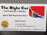 The Right Cut Professional Painting