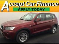 BMW X3 FROM £79 PER WEEK!