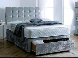 BEDS - brand new luxury divan 🛌 free delivery