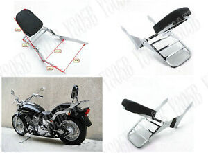 Yamaha VStar Custom 400 650 Dragstar DS400 650 Backrest Sissy Bar Set 1997-2013