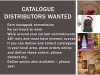 Catalogue distributors wanted