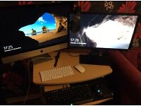 Apple iMac 27 inch with Retina 5k display.