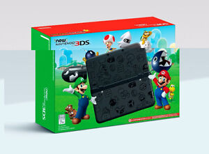 New Nintendo 3DS Super Mario- __Black Edition__