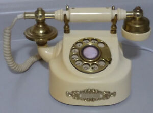 Vintage Rotary Dial French Style