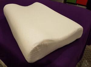 Organic Queen Latex Pillow - Contour