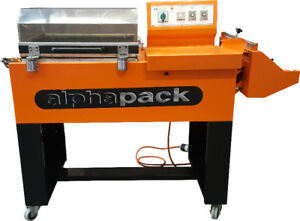 Used Alpha Pack AP 5540 One Step Wrapper