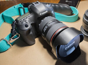 Canon 5D Mark III with Ultrasonic 24-70mm F2.8 L II USM Lens