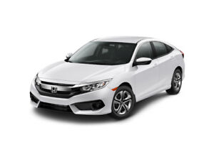 Takeover my lease - 2016 Honda Civic LX Sedan and Save