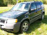 TODAY ONLY FORD ESCAPE  $800