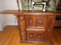SINGER DELUXE 1905 - ANTIQUE SEWING MACHINE