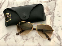 AUTHENTIC Ray-Ban RB8313 (Gold) Carbon Fiber Sunglasses