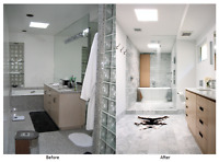 We specialize in  bathroom renovation in the area of Montreal