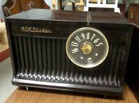 Vintage RCA Tube Radio - BLUE JAR Antique Mall