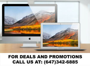 Apple iMac available for a Phenomenal price! Call now!