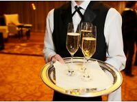 Casual Waiters and Bartenders required for Functions and Events