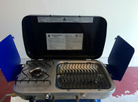 WOODS™ DOUBLE BURNER CAMPING STOVE & GRILL