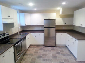 2 bedroom lower suite-safe,big,bright,new! Location location!