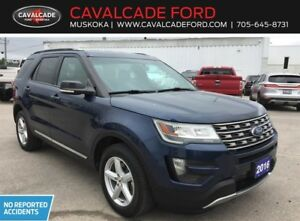 2016 Ford Explorer XLT  4WD Certified Used SUV Trailer tow pkg!