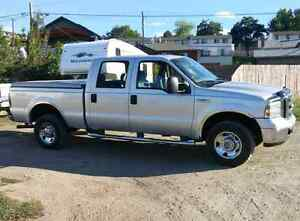 2007 ford f250 xlt crew cab  for sale