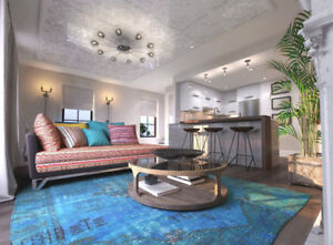 Brand New 2-storey 2 Bed Condo Town at 760 Lakeshore Mississauga