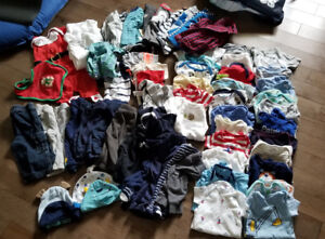 Boys 3 to 6 month clothing lot