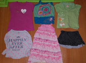 Vêtements filles 5 ans (Lot de 6 morceaux)