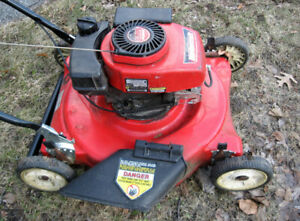 3.8 HP Gas Lawnmower - tuned up - sharp blade