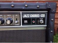 Roland JC-120 Guitar Amplifier (1982 model) Very Good Condition