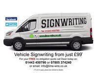 Signwriting (Shop & Vehicle)