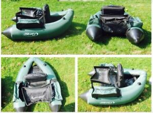x2 Fishing Float Tubes Blow Up Water Floating Chairs