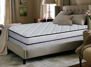 Twin Bed, Twin Box Foundation and Twin size bed frame