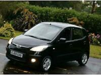 Hyundai i10 1.2cc Petrol, Automatic gearbox, Comfort spec, 5 Doors, BLACK