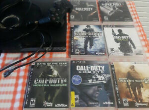 ps3 call of duty bundle a ps3 console and wireless controller