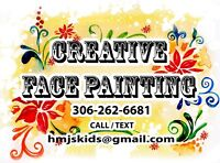 Creative Face Painting for any party or special event