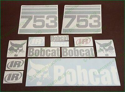 Bobcat 753 Decals Stickers Full Set Kit Skid Steer Original Look Free Shipping