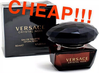 Versace Crystal Noir EDT 50ml With Free Delivery Included! Original & Cheap