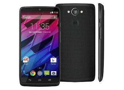 Motorola Droid Turbo XT1254 UNLOCKED Verizon 32GB Black Ballistic Nylon