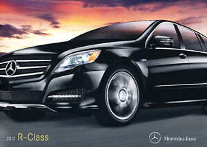 2012-Mercedes-Benz-R-Class-R350-20-page-Original-Dealer-Sales-Brochure