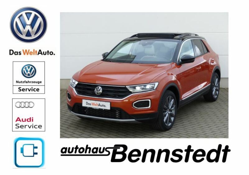 Volkswagen T-Roc 1,6 TDI Style*LED*Standheizung*Dach*