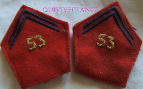 IN9422 - Badges Fabric Of Col Officer 53° Regiment D'Artillery