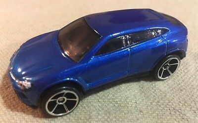 2016 Hot Wheels Lamborghini Urus Blue Loose